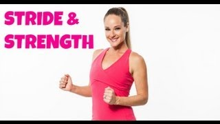 Stride & Strength - Full 36 Minute Walking Workout with Dumbbells for Weight Loss by jessicasmithtv
