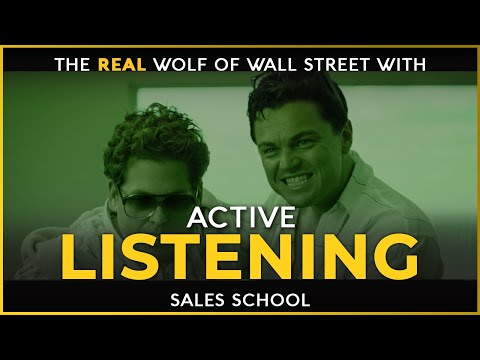 Active Listening | Free Sales Training Program | Sales School ...