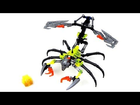 Vidéo LEGO Bionicle 70794 : Le Crâne scorpion