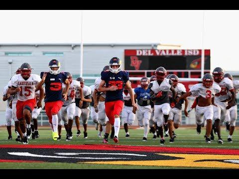 Dan & Max take part in high school American football practice
