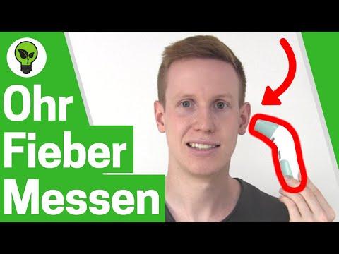 Ohrthermometer Anwenden ✅ TOP ANLEITUNG: Wie mit Stirn- & Fieberthermometer Richtig Fieber Messen???