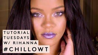 Descargar MP3 TUTORIAL TUESDAYS WITH RIHANNA: #CHILLOWT EDITION | FENTY BEAUTY