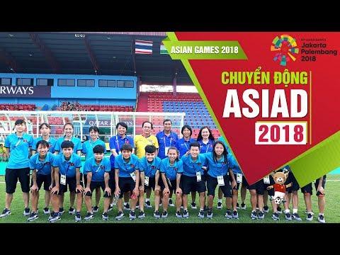 Đội tuyển nữ Việt Nam thăm sân thi đấu Bumi Sriwijaya tại Palembang (Indonesia)