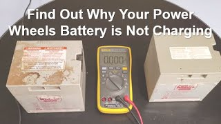 Find Out Why Your Power Wheels Battery is Not Charging