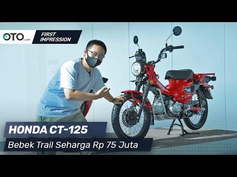 Honda CT 125 | First Impression | Bebek Trail Seharga Rp 75 Juta | OTO.com