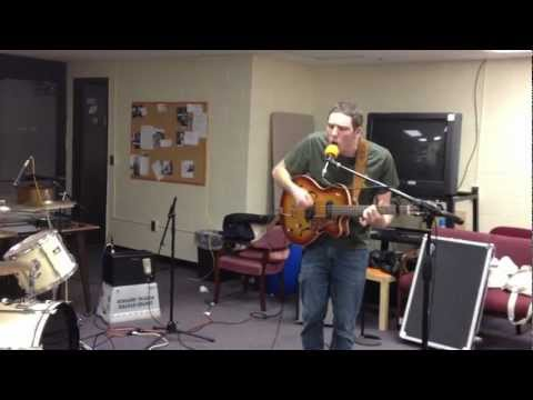 "M.R.Smith - ""I'll Be here"" Live on 88.7 Brave New Radio"