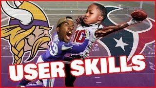 *CUSTOM GAME MODE* DeAndre Hopkins VS Xavier Rhodes! Who Wins? - Madden 19 User Skill Challenge Ep.2