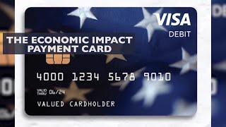 Treasury department sends out stimulus payments on debit cards