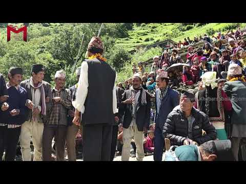 new latest deuda of Karnali Nepal Raj B dani vs …..   in Humla