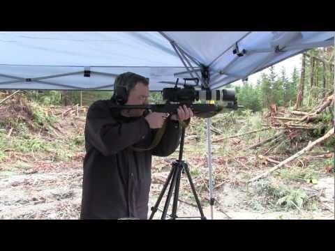 Sony FS700U High Speed Test - Bullet in Flight 500 vs 1000fps