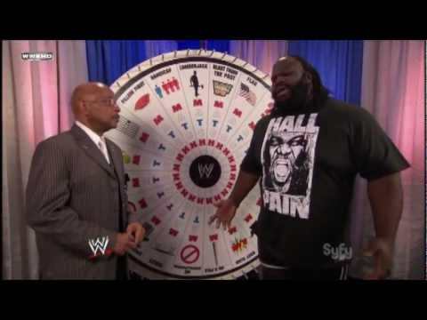 Mark Henry to Teddy Long: YOU SPIN THE WHEEL!