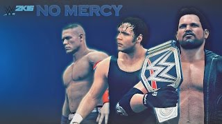 WWE 2K16 No Mercy 2016 Promo