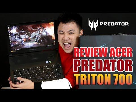 INI DIA LAPTOP GAMING IDAMAN PARA GAMER !! - ACER Predator TRITON 700 #HANSREVIEW