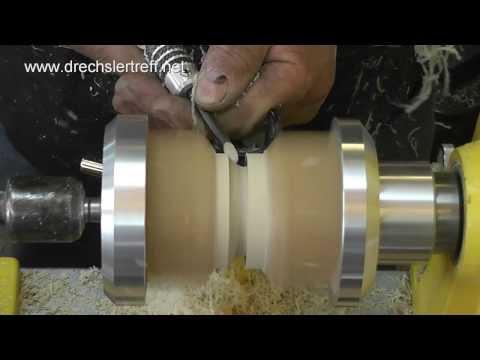 Wiedemann Kantelkugel - Set Kugeleinstechset Dekokugeln aus Holz drechseln Drechsler