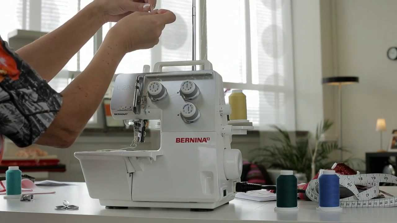 BERNINA Overlocker L 220: Точная настройка, советы и рекомендации