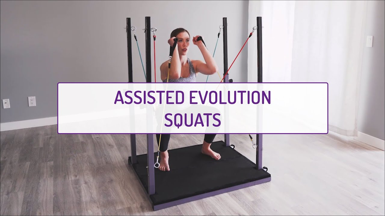Assisted Evolution Squats