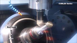 60 Rockwell – Hard Turning on a Matsuura CUBLEX 63 MillTurn 5 Axis