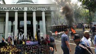 Polisi Tetapkan 4 Tersangka Hoaks Demo Mahasiswa di MK