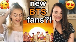 Reacting To BTS! OH MY GOD!!