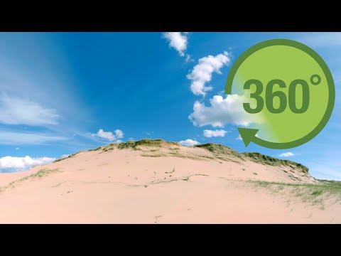 The dunes of Prince Edward Island in 360