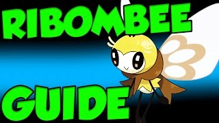 Ribombee  - (Pokémon) - RIBOMBEE QUIVER DANCE! Pokemon Sun and Moon Ribombee Moveset and Ribombee Guide