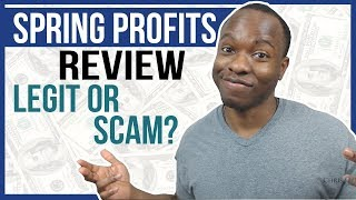 Spring Profits Review: LEGIT Tshirt ClickBank Product or SCAM? [INSIDE LOOK]