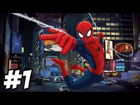ultimate spider man xbox part 1