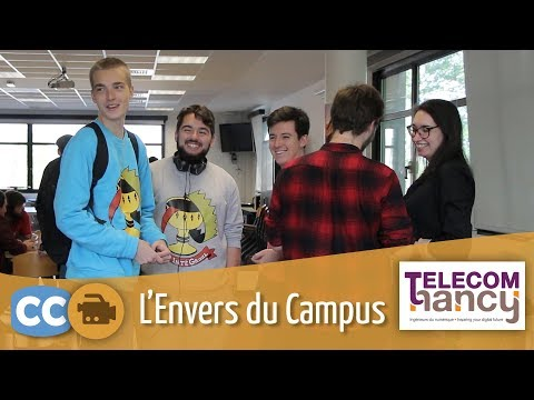 L'envers du campus : Ingénieur diplômé de Télécom Nancy