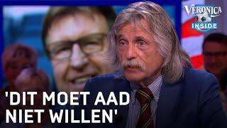Johan ziet vlogger Aad300 bij persconferentie PSV: 'Dit moet Aad niet willen' | VERONICA INSIDE