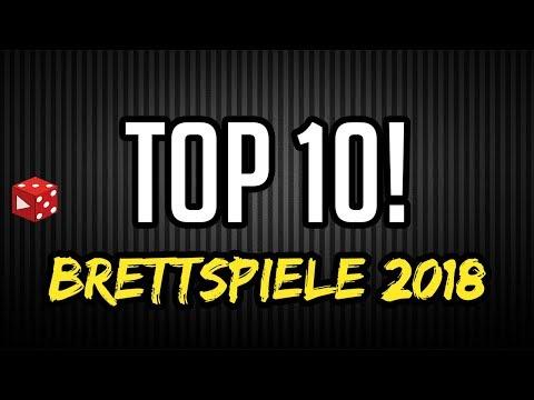 Top 10 Brettspiele 2018 - Meine Highlights aus dem ersten Halbjahr 2018