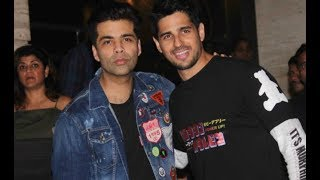 Sidharth Malhotra rang his birthday with Karan Johar and friends