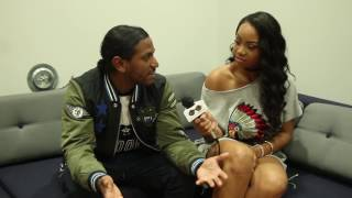 Global Glam interviews RB Singer Lloyd at SSOF 2016