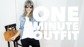 ONE MINUTE OUTFIT How To Wear Jogger Pants #Womanover50 | Elisa Berrini Gómez
