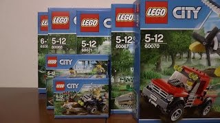 preview picture of video 'NOWOŚCI STYCZEŃ 2015 LEGO CITY POLICJA WODNA'