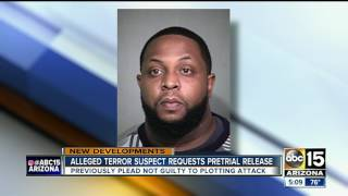 Accused ISIS supporter requests jail release