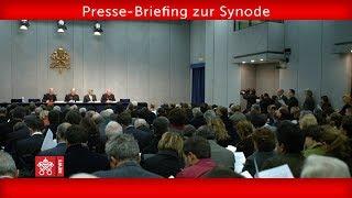Presse-Briefing zur Synode 2018-10-27