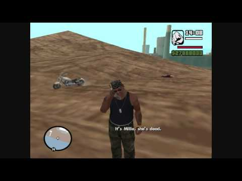 GTA SA - Millie Is A MAN