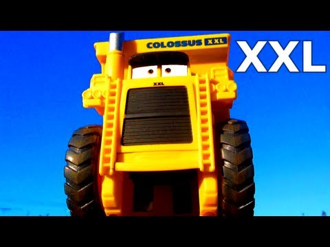Cars 2 Colossus XXL Tipping Dump Truck Micro-Drifters Similar To Disney Pixar Screaming Banshee Toy