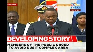 The attack is over: Uhuru - VIDEO