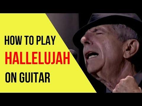 Hallelujah Leonard Cohen Guitar Lesson