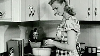 1940s - HOUSEWIFE SCHOOL - Cooking Terms