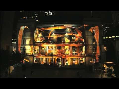 3d-beamer-mapping-op-gebouw-in-sydney