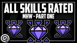 All Skills Reviewed (Part 1)   Monster Hunter World
