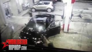 Damn Wild Shootout Caught On Gas Station Surveillance In Atlanta 1