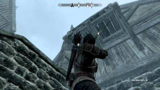 Skyrim The pursuit, how to get in Mercers house and discover evidence of mercers location