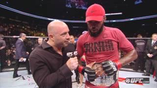 UFC 152: Jon Jones Octagon Interview