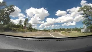 Highway 260 through Heber and Overgaard, Arizona