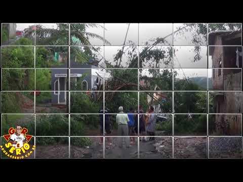 Chuva Forte causa prejuízos na Favela dos Brancos tristeza