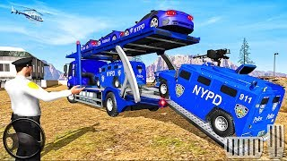 Police Cars Transport Truck 2019 - Best Android GamePlay