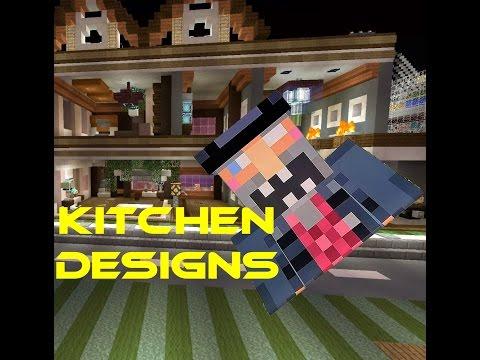 Modern Kitchen Designs Tutorial Minecraft Blog